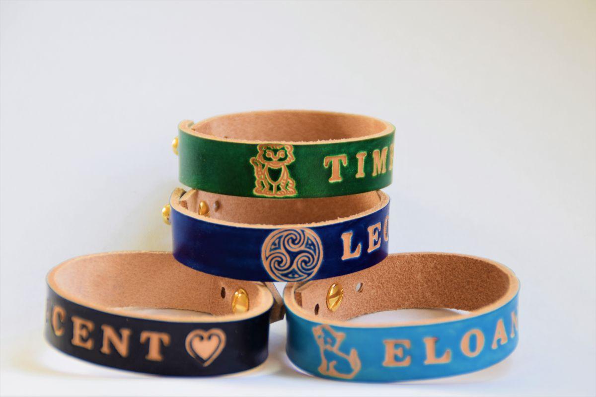 cadeaux bracelet prénom gravé