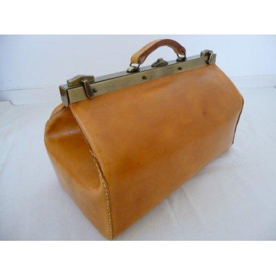 malle de voyage cuir