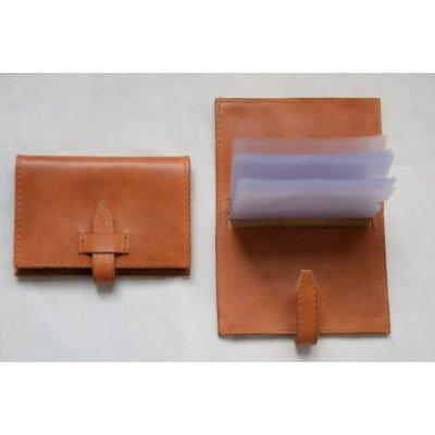 porte-carte cuir artisanal