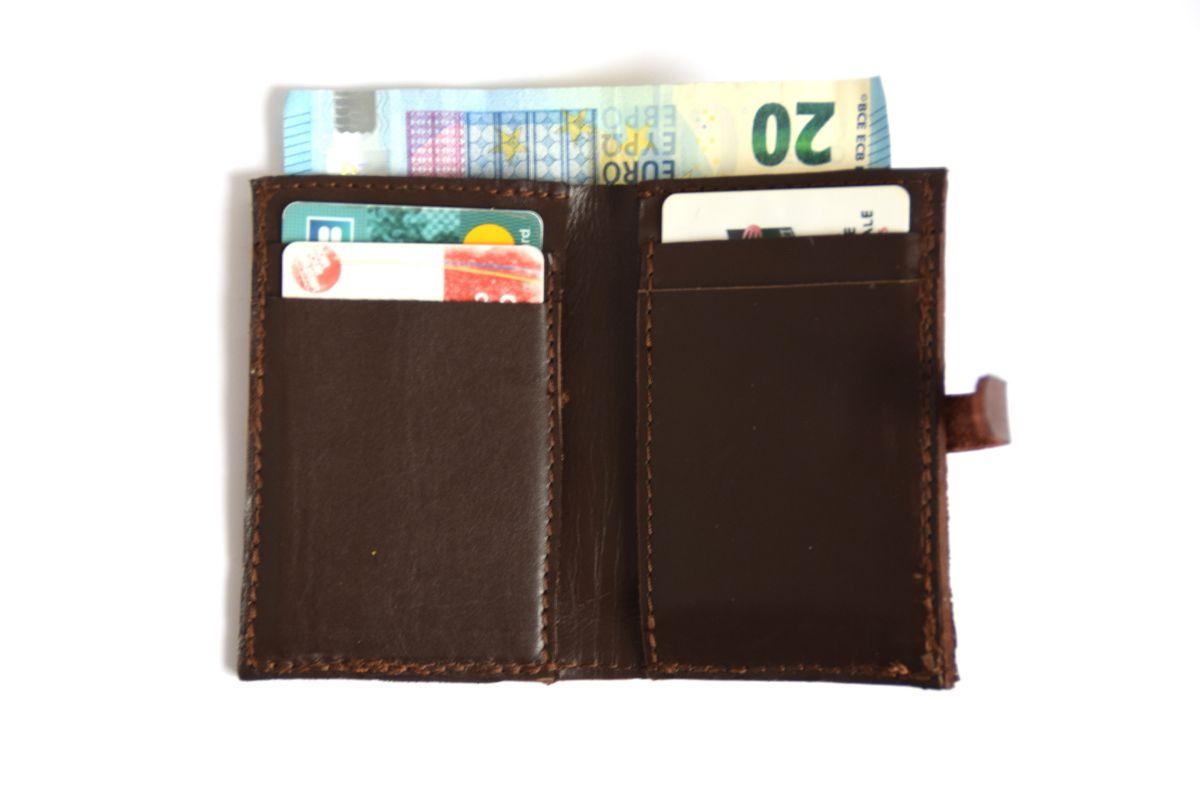 porte-feuille de poche en cuir