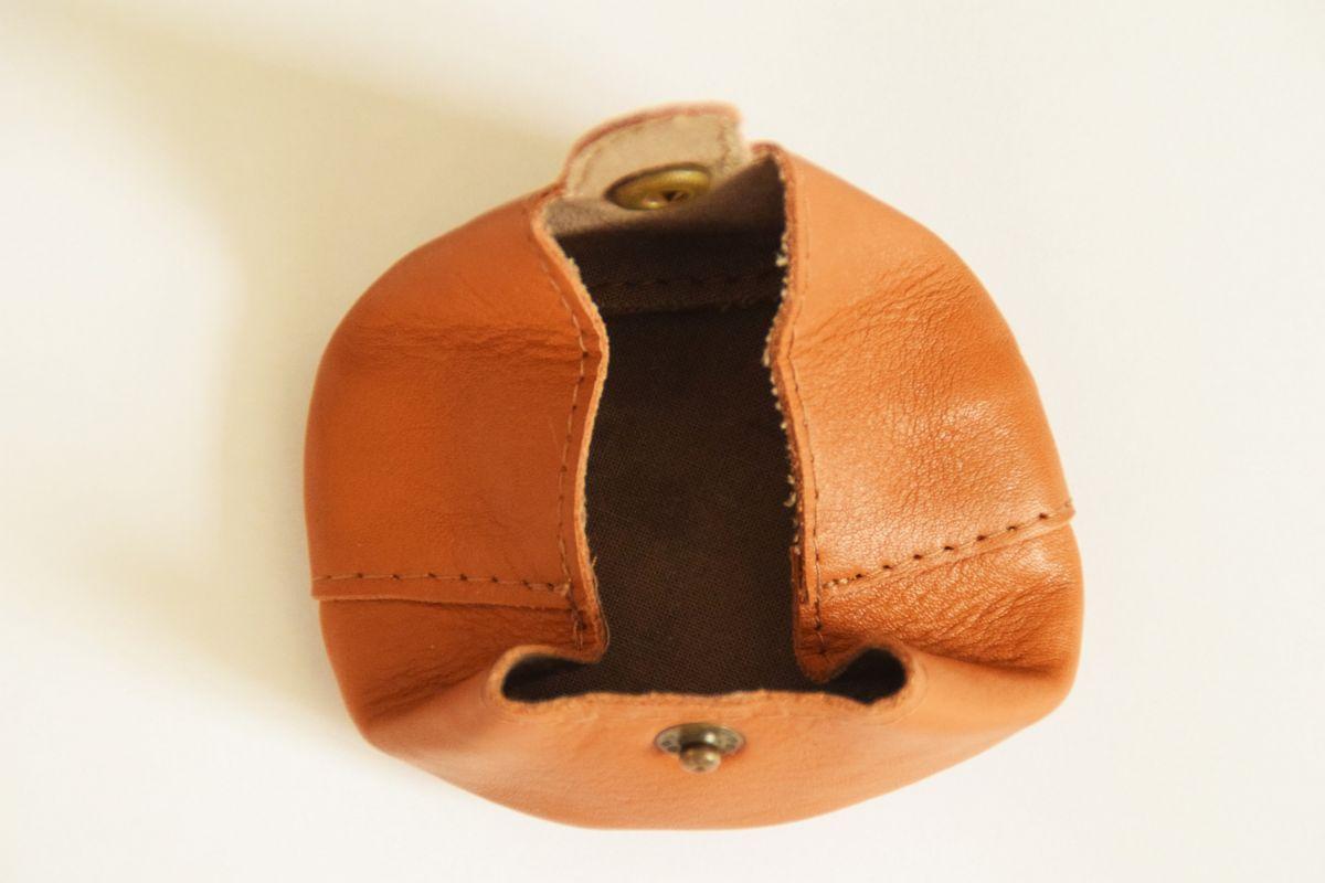 porte-monnaie de poche artisanal