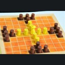 jeu du tablut miniature