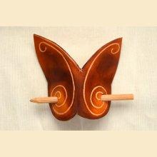 barette papillon