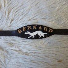 bracelet prénom cuir personnalisable