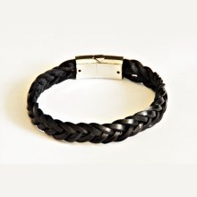bracelet homme cuir